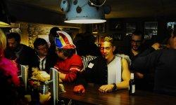 Altmasken, bal, party, carnival