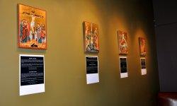 expo, icônes, Gaida, Bulgaria