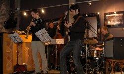concert, jazz, Jens Böckamp, Riaz Khabirpour, Matthias Nowak, Pablo Held, Paul Wiltgen
